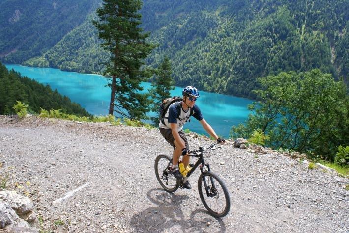 weltweit verkauft billiger Qualität und Quantität zugesichert Bringt Mountainbiker-Augen zum Leuchten: einmal die Alpen ...